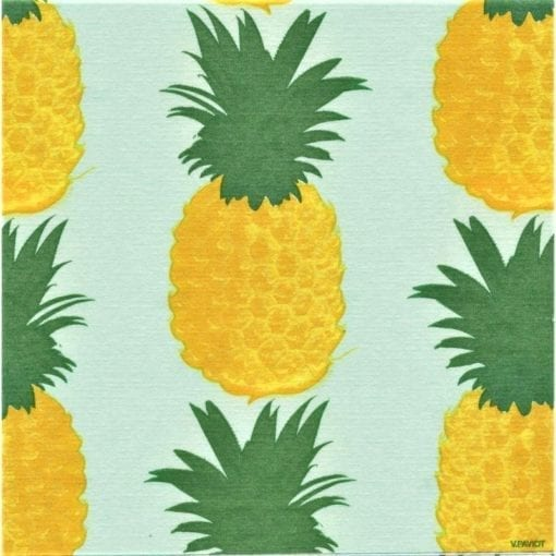 Paviot Napkin Pineapple Green