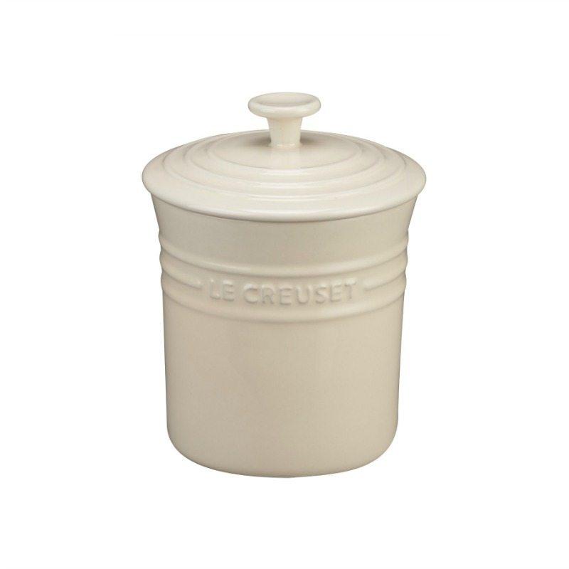 Le Creuset Ceramic Storage Jar Cotton The Butler  : Le creuset cotton jar from www.butlertradingcompany.com.au size 800 x 800 jpeg 29kB