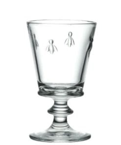 Bee Wineglass