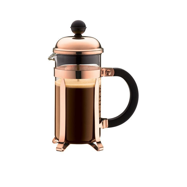 Bodum Chambord Coffee Maker Copper Finish 8 Cup The Butler