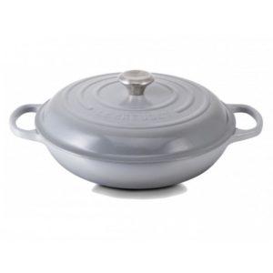 Le Creuset Signature Shallow Casserole Mist Grey.1529401662