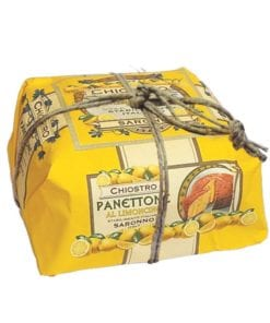 Ca332 Chiostro Panettone Handwrapped Limoncino 750g