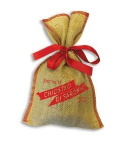 Ca368 Chiostro Jute Panettone Classico Bag 100g