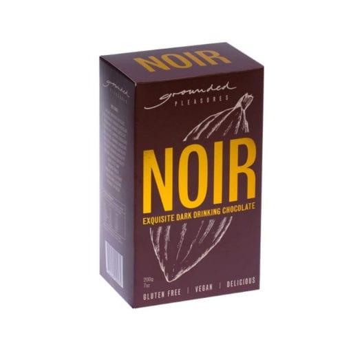 Drinking Choc Noir