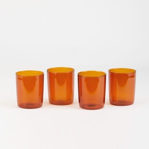 Large Goblet Set Amber Maison Balzac Prod 001xx 1