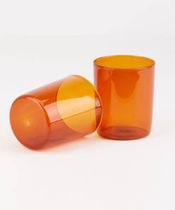 Large Goblet Set Amber Maison Balzac Prod 002