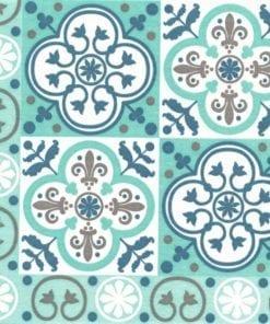 Paviot Napkin Tiles Turquoise