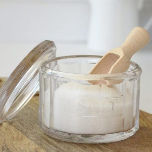 Hie Glass Salt Pot