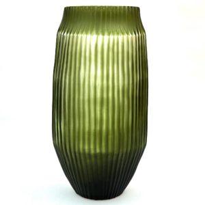 Bison Bt Vase Lge Olive