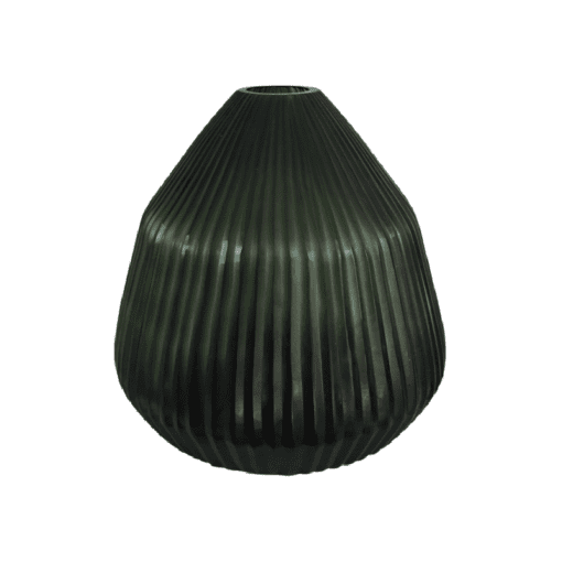 Bh Conical Vase Small Leaf