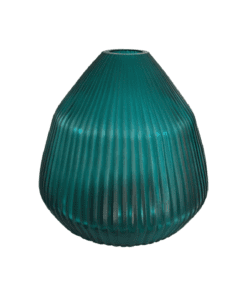 Bh Conical Vase Small Turquoise